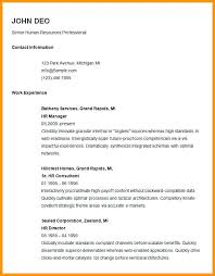 Free Basic Resume Templates Microsoft Word Basic Resume Format ...