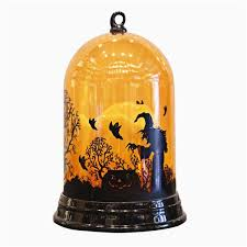1Pc Creative Led Lantern Light <b>Pumpkin Witch Pattern</b> Dome ...