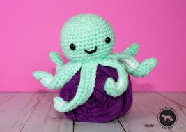 Octopus Crochet Pattern Delectable Free Crochet Pattern For Mini Octopus Thefriendlyredfox