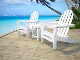 recycled plastic adirondack chairs. Recycled Plastic Adirondack Chairs Durable And Comfort Chair In White With Side Table Also Costco