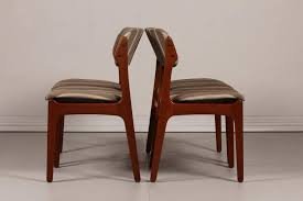 fine dining room idea moreover colored leather dining chairs elegant mid century od 49 teak dining
