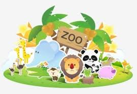 zoo animals together clipart. Perfect Clipart Free Zoo Background Clipart 1 For Animals Together