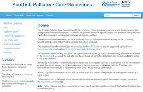 Scottish Palliative Care Guidelines Anticipatory Prescribing