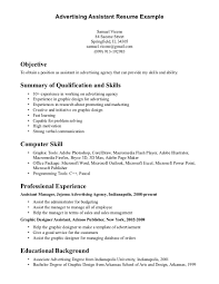 Advertising Asst Sample Resume Advertising Asst Sample Resume shalomhouseus 1