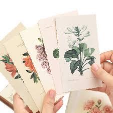 <b>30pcs</b>/<b>pack Flower Series Paper</b> Postcard Busines Greeting Card ...