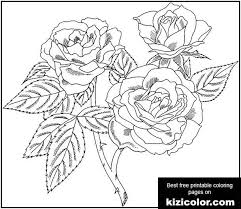 Your child will have a blast letting their creativity flow while filling in one of our printable coloring pages. Europeana Floribunda Rose Coloring Page Kizi Free 2021 Printable Super Coloring Pages For Children Roses Super Coloring Pages