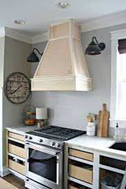 ceiling mounted wooden stove exhaust fan
