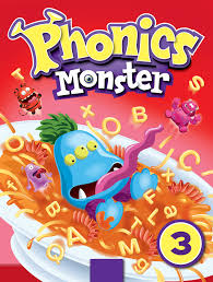 Shawn Finley Illustration Phonics Monster