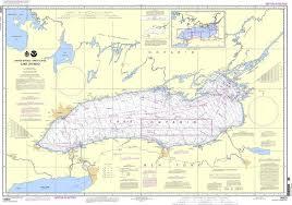 Ontario Nautical Charts Amazon Com Noaa Chart 14800 Lake Ontario 0852675839757