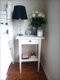 white bedside narrow black nightstand full size of wood bedside table black bedside table modern white
