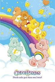 2005 Care Bears Chart Grid Poster New 22x34 Free Fast