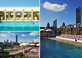 hotel outdoor pool. SB-LondonPools-CreditShoreditchHouse-MaybourneHotelGroup Hotel Outdoor Pool