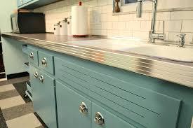 vintage kitchen countertops vintage kitchen vintage metal edging retro laminate kitchen countertops