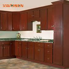 solid wood kitchen cabinets. Prefab Homes Wooden Almari Image Guangzhou Kitchen Solid Wood Cabinets A