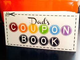father s day gift dad s coupon book 12 coupon 🔎zoom