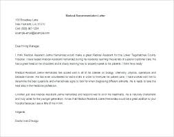 Letter Of Recommendation For Medical Doctor Letter Of Recommendation Lawyer A Medicine Doctor For Mmdad Co
