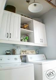 diy laundry room cabinets laundry room makeover the diy village
