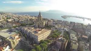 Messina panoramica vista dall'alto sopra Cristo Re - YouTube