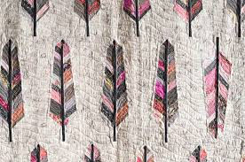 anna maria horner | make something & Featherbed-5 · Feather Bed quilting detail Adamdwight.com