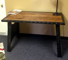 industrial office desks. Modern Industrial Furniuture - Home Office Houston . Desks