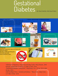 Gestational Diabetes By Zoie Cowhick Infographic