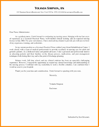 Resume Cover Letter For Lpn Cover Letters Lpn New Grad Unique Nice Cover Letter For Licensed
