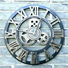 giant wall giant wall clocks extra large outdoor clocks oversized wall clock large outdoor wall clock