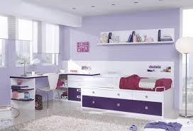 Purple Bedroom Furniture Cute Children Bedroom Ideas In White And Purple Color Scheme Along