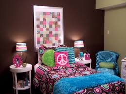 Peace Bedroom Decor Interior Bedroom Creative Teenage Girl Room Idea With Round White