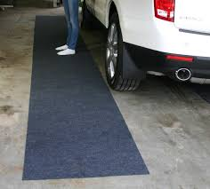 garage floor rugs graceful drymate runner is an affordable way step out of your car in
