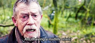 john hurt doctor who gif.  Gif The Scene Where They First Appear Together In The Forest Was Just  Brilliant Had Such Great Rapport I Can See Why John Hurtu0027s Doctor  Inside Hurt Who Gif