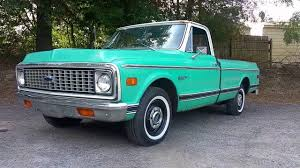 1971 Chevrolet C10 Fleetside long bed Survivor! - YouTube