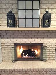 clean fireplace brick scrubbing bubbles oven cleaner 15 with vinegar