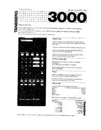 tandberg tcd 310 casette deck sm service manual tandberg rc 3000