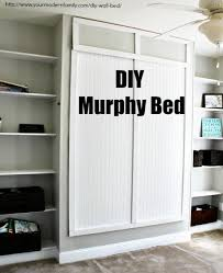 diy murphy bed for under 150 built in