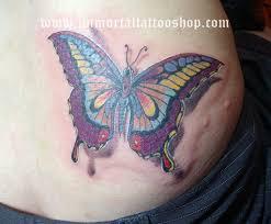 3d Tattoo Butterfly Tattoogirltattoo Wwwimmortaltattoos Flickr