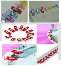 Clover wonder clip /Quilt tools/patchwork sewing accessory Plastic ... & Clover wonder clip /Quilt tools/patchwork sewing accessory Plastic Wonder  Clips Clamps Fabric Craft Sewing Holder 120pcs-in Sewing Tools & Accessory  from ... Adamdwight.com