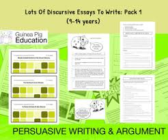 discursive essays lots of discursive essays to write pack 1 9 14 years
