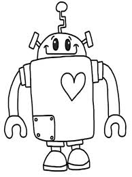 Small Picture Robot Coloring Pages Make A Photo Gallery Robot Coloring Pages at