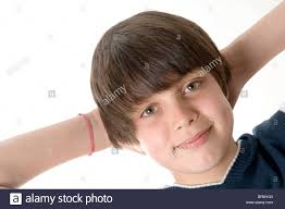 Self Hair Style confident confidence self image content happy child boy teenager 1125 by wearticles.com