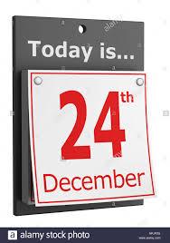24th December Christmas Eve Stock Photo 15806583 Alamy