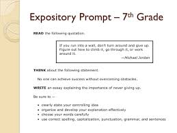 th grade essay prompts madrat co 7th grade essay prompts