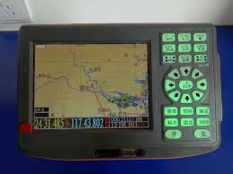 Marine Chart Plotter Navigation Built In Gps Antenna 5 Inch