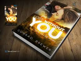 i m lost without you one of the most in demand books on amazon is romance good news i designed romance niche book cover template