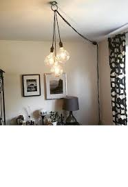 pendant lighting plug in. Unique Chandelier PLUG IN Modern Hanging Pendant Lamp Industrial Regarding Plug In Ideas 0 Lighting