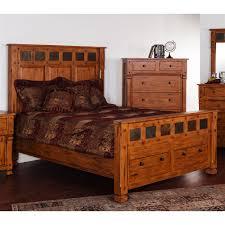 Sunny Designs Bedroom Furniture Sunny Designs 2322ro Ek Sedona Bed The Mine