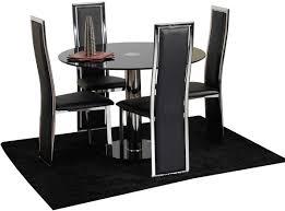 space saver black dining