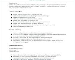 Teaching Skills For Resume Basic Computer Skills Resume What Are Inspiration Basic Computer Skills Resume