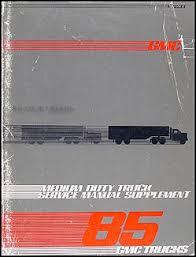 1985 chevrolet and gmc medium duty c50 c60 c70 gas wiring diagram 1985 gmc medium truck repair shop manual original supplement 4000 7000