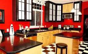 colorful kitchen ideas. Red Kitchen Decorating Ideas, Kitchen, Colourful Design Colorful Ideas